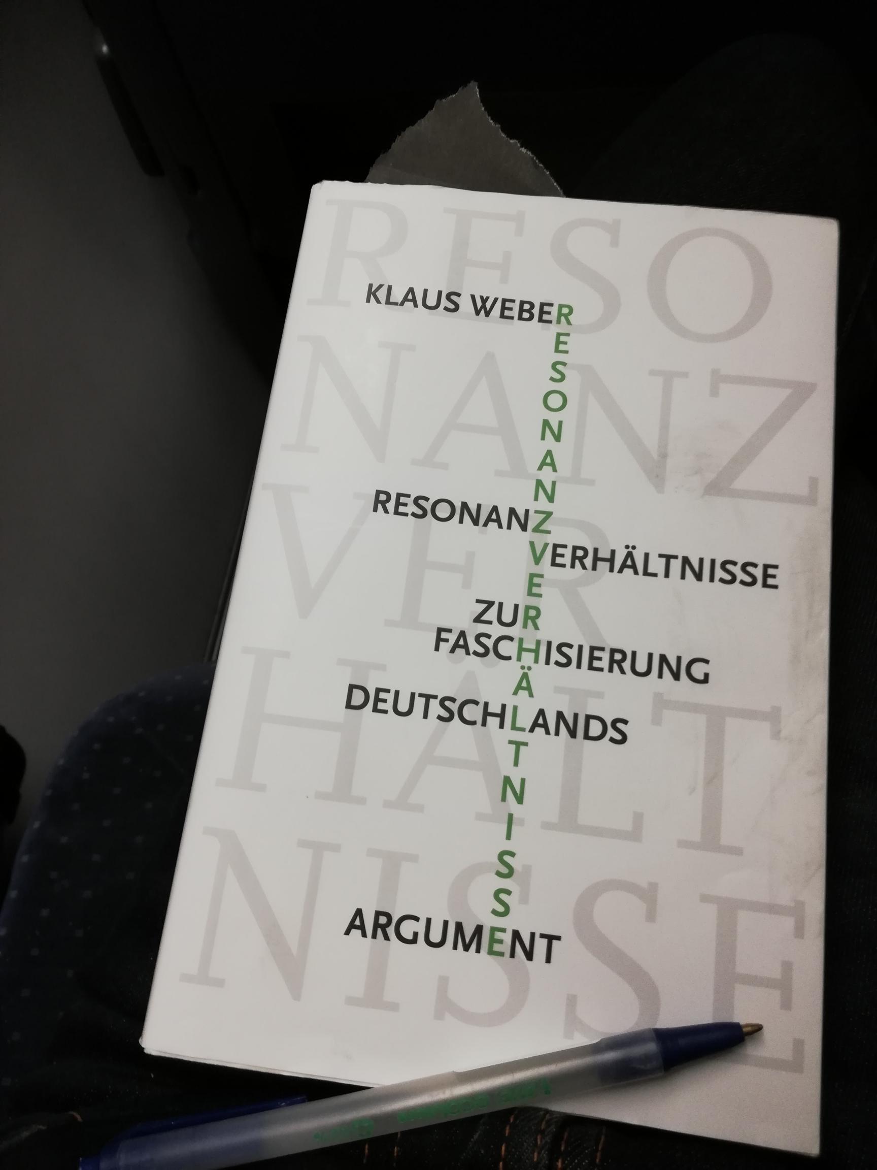 Resonanzverhältnisse. Faschisierung. Gedanken zu Gauland und zur Frankfurter Buchmesse